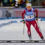 Белоруска Дарья Юркевич заняла третье место на этапе Кубка мира по биатлону в Швеции