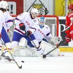 Молодёжная сборная Беларуси по хоккею обыграла команду Норвегии