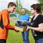 Первый матч областного первенства по футболу закончился победой ФК «Коммунальник»