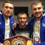 Видеообращение боксеров после поединков: «Украина — это было для вас!»
