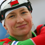 У Дарьи Домрачевой – серебро в гонке преследования на чемпионате мира по биатлону