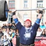 Черновицкий богатырь Ильин снова стал самым сильным человеком Украины