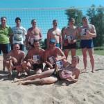 На Сенненшчыне прошел открытый турнир по пляжному волейболу, посвященный Дню молодежи