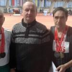 Сенненцы показали класс на открытом чемпионате Республики Беларусь среди ветеранов-легкоатлетов