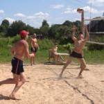 Конец июля ознаменовался на Сенненшчыне спортивным событием. В деревне Свободная прошел открытый районный турнир по пляжному волейболу.