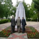 Первый в Украине памятник Елене Пчилке установлено в Луцке