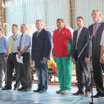 Юных борцов приветствовали председатель райисполкома и серебряный призер Олимпийских игр