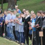 Сенненские подростки сыграли в «Зарницу»