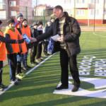 В Сенно соревновались уличные футбольные команды