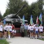 В честь героев-танкистов