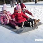 Фоторепортаж: Зима на Сенненщине — это время активного отдыха