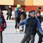 Приглашают лыжня и каток