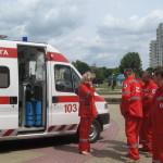 Япония передала Луцкой станции скорой помощи оборудование на 71 тысячу долларов