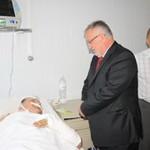 Климчук в Нововолынске посетил травмированных шахтеров