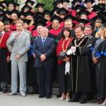 Выпускники ВНУ торжественно получили дипломы магистров