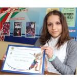 С «серебром» вернулась с континентального первенства ляхавічанка Алеся Борисевич