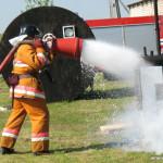 В День пожарной службы в Сенненском РОЧС наградили лучших борцов с огнем