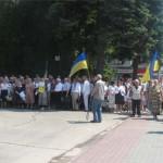 Луцк почтил годовщину перезахоронения Тараса Шевченко